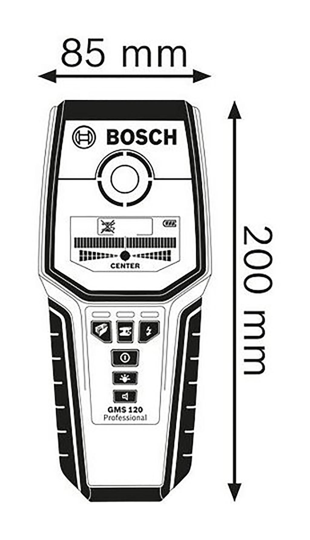 Description photo 1 of BOSCH GMS 120 DETECTOR<br>BOSCH GMS 120 ម៉ាស៊ីនរាវរក