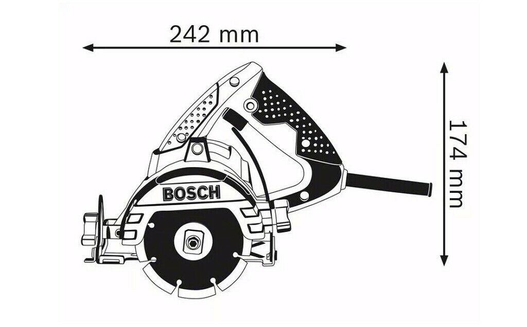 Feature photo 4 of BOSCH GDM 13-34  MARBLE CUTTER PROFESSIONAL 1300W<br>BOSCH GDM 13-34 ម៉ាស៊ីនកាត់ការ៉ូ 1300 វ៉ាត់