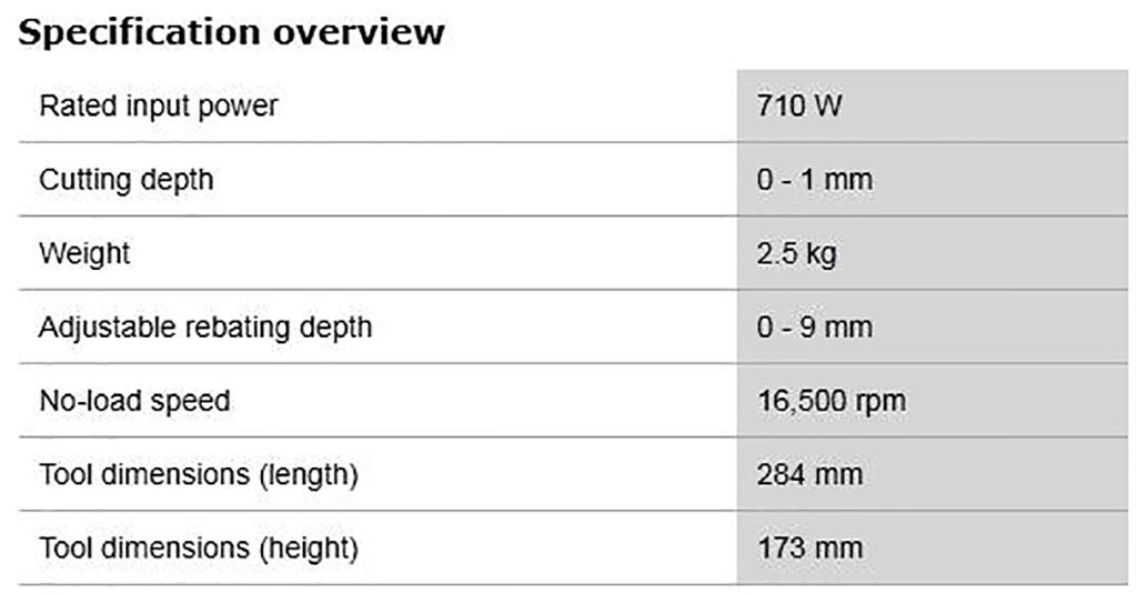 Description photo 2 of BOSCH GHO 10-82 PROFESSIONAL 710W<br>BOSCH GHO 10-82 ម៉ូទ័រឈូសឈើ 710 វ៉ាត់